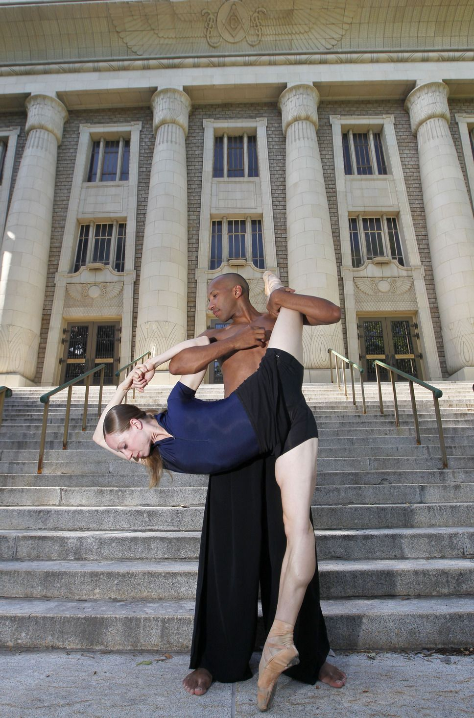 NOW International dancers Katherine Lawrence and Jo Blake