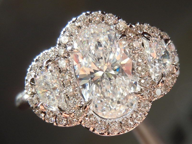 Best 25 Three stone rings ideas on Pinterest