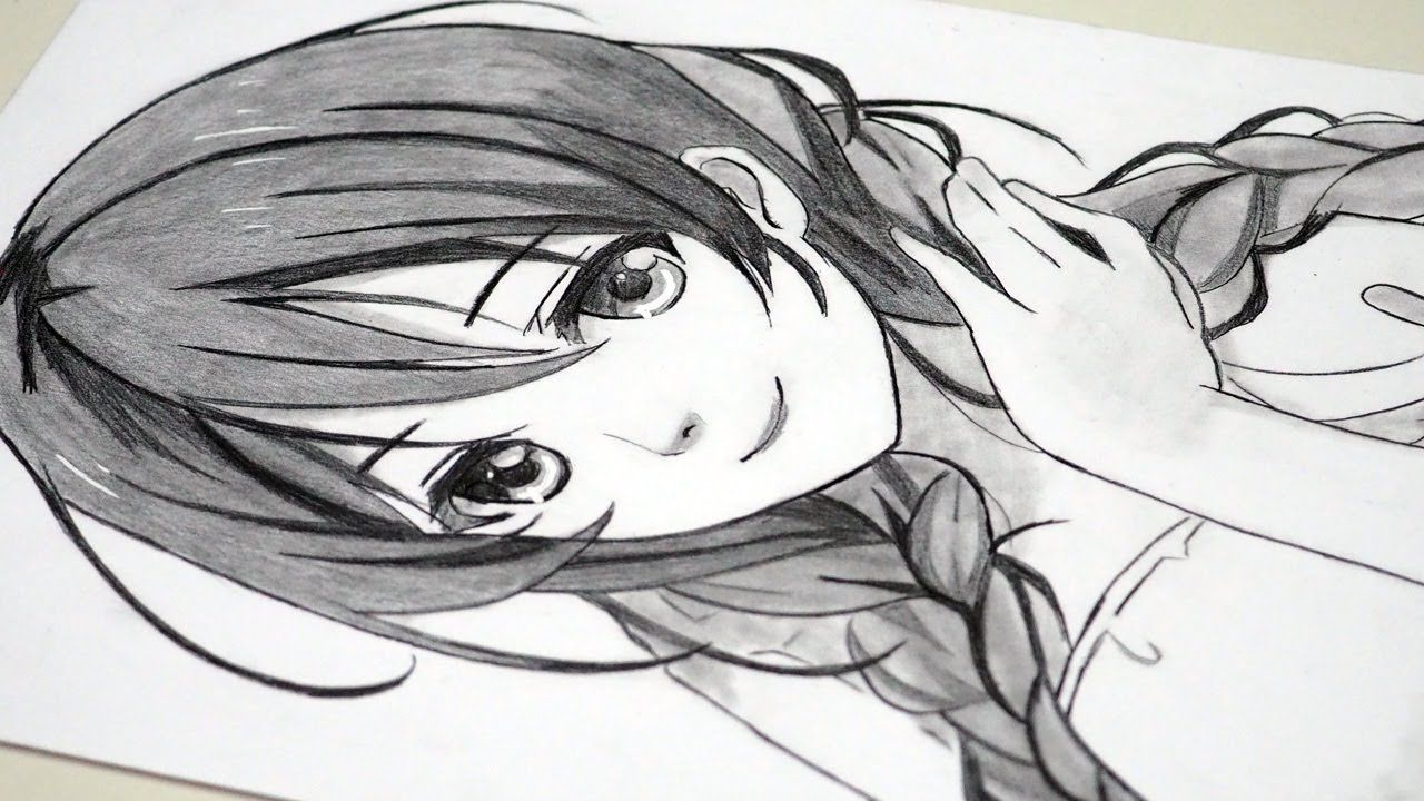 Pin On Anime Drawing For Beginner