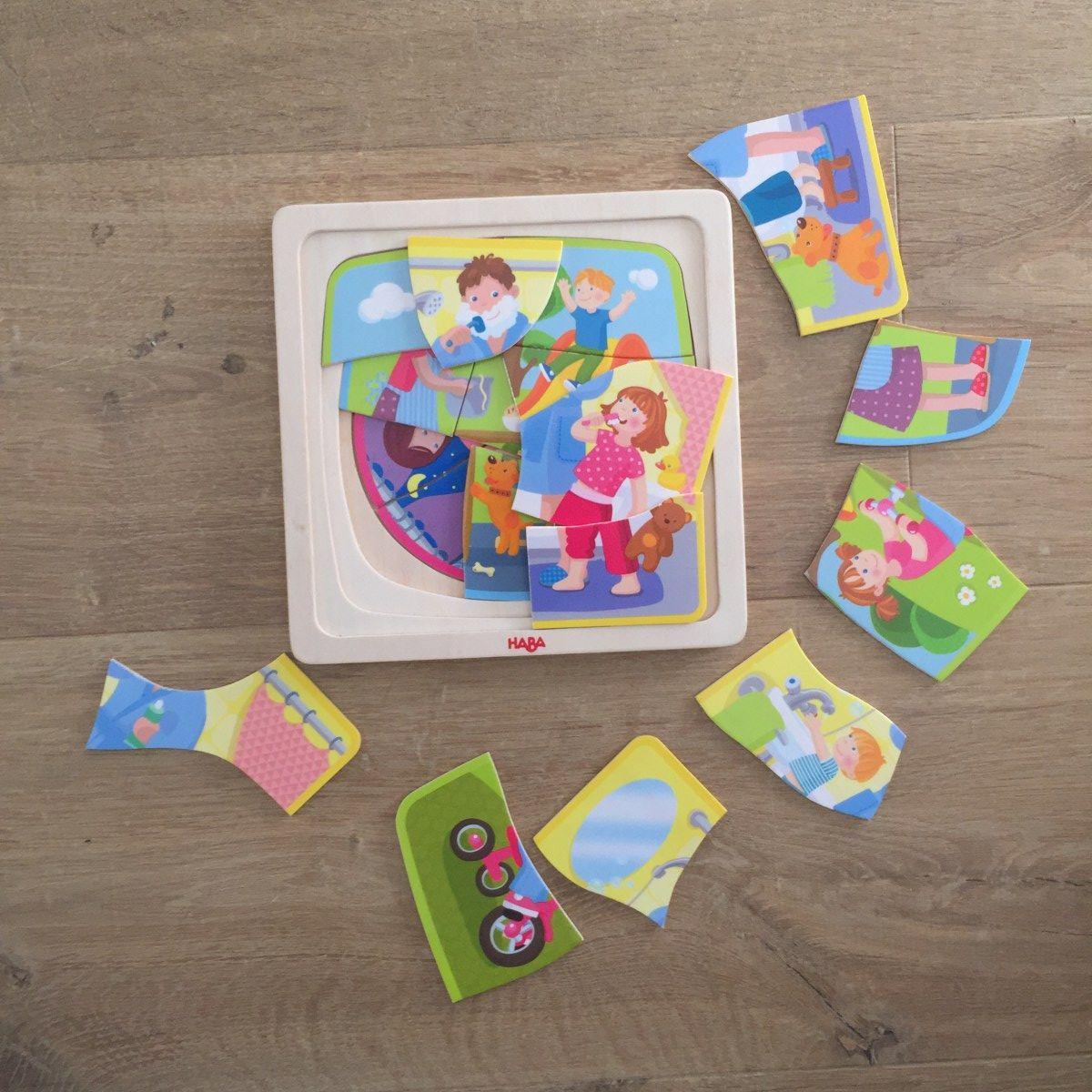Puzzles et jeux pour enfants de 2 ans et demi à 4 ans   Jeux enfants, Jeux montessori et Enfant