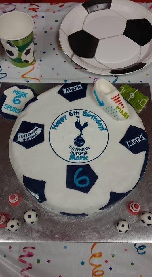 Tottenham Hotspur Spurs Football Soccer Cake Spurs