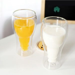 Wholesale 350ml Double Wall Beer Glasses Beer Mug With Creative Design-Hefei Partner Imp. & Exp. Co., Ltd