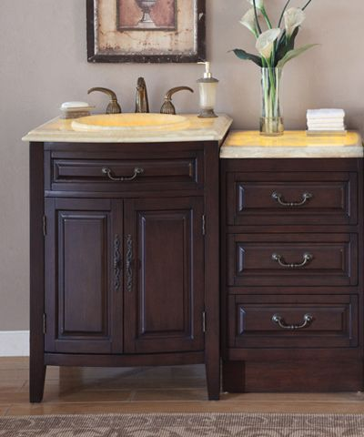 A Two Tiered Bathroom Vanity Very Different I Like It With