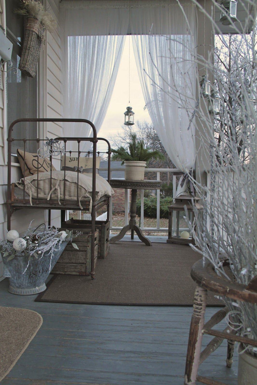 Winter porch (1) From: Elizabeth House St. Louis, please ...