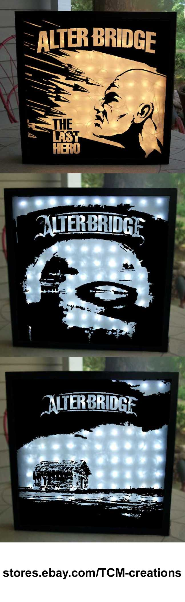 Alter Bridge Shadow Boxes With Led Lighting One Day Remains The
