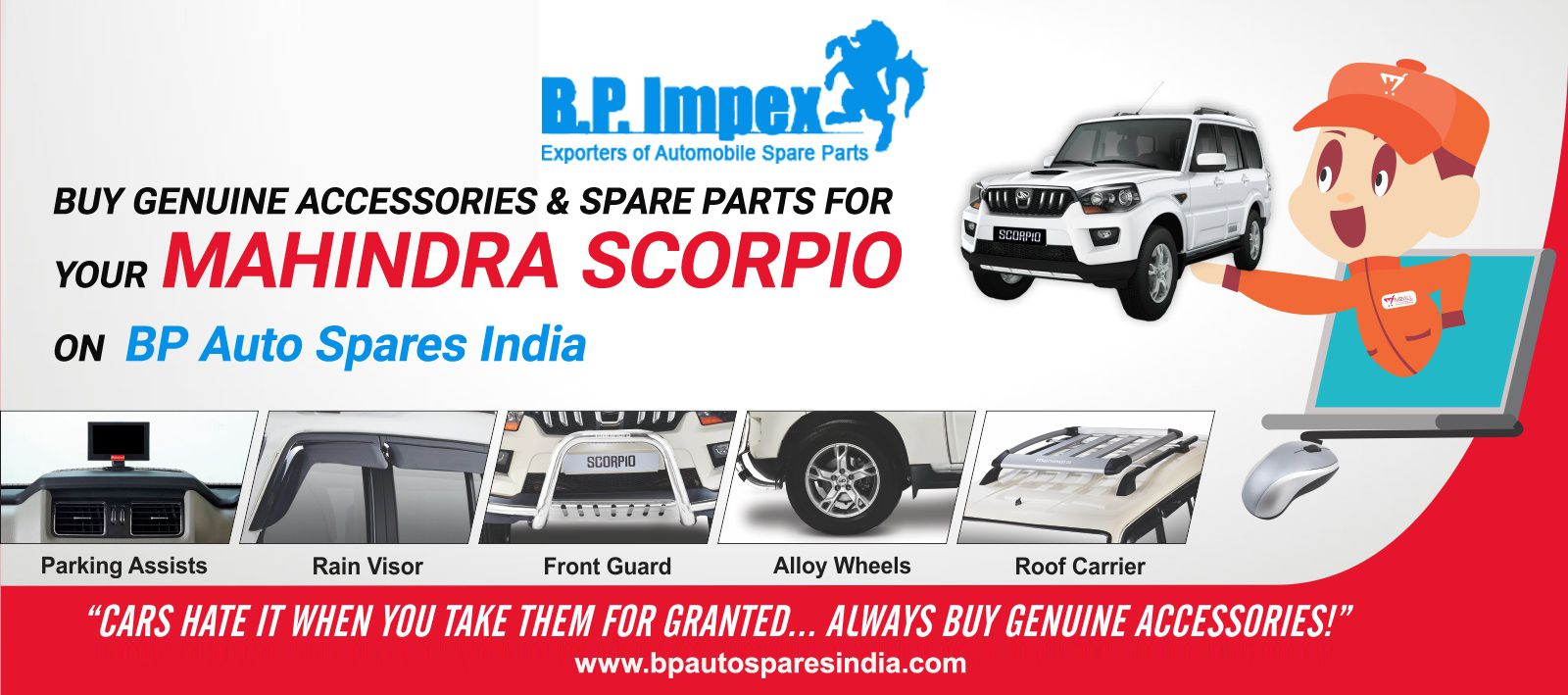 In Case You Are Looking For Quality Mahindra Scorpio Parts For