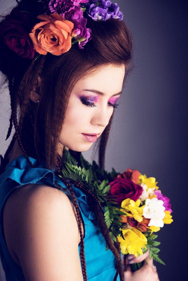 Projektant Gabriela Hezner Modelka Emilia Dołęgowska Make Up Anna