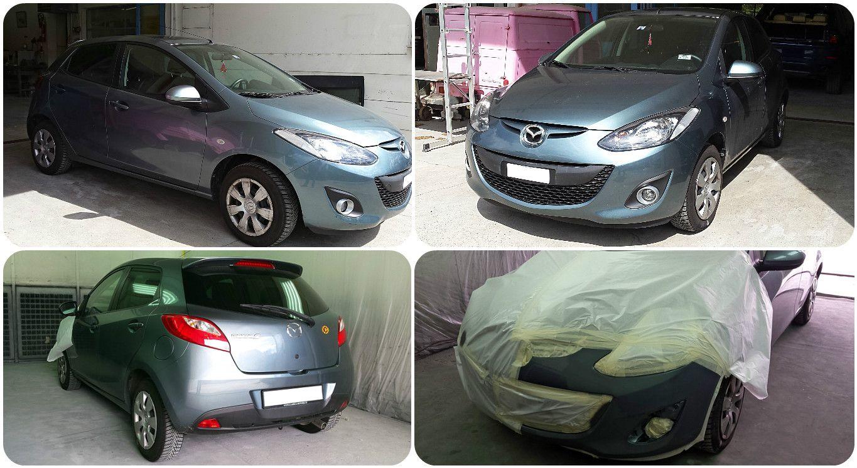 Mazda réparations pare-choc avant. Carrosserie inter-union - 53 route de suisse, 1295 Mies Tél.022 755 45 30 - Fax. 022 779 03 28 Site internet: www.interunion.ch