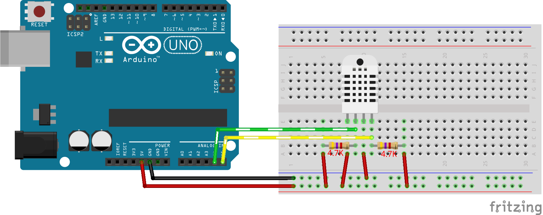 Arduino and ESP8266 DHT12 complete library (i2c and one wire