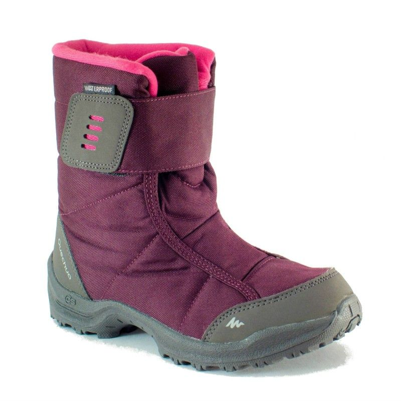 Turystyka Buty Dla Dzieci Buty Sh100 X Warm Dla Dzieci Quechua Buty Dla Dzieci Rodzaj Obuwia Boots Best Winter Boots Waterproof Snow Boots