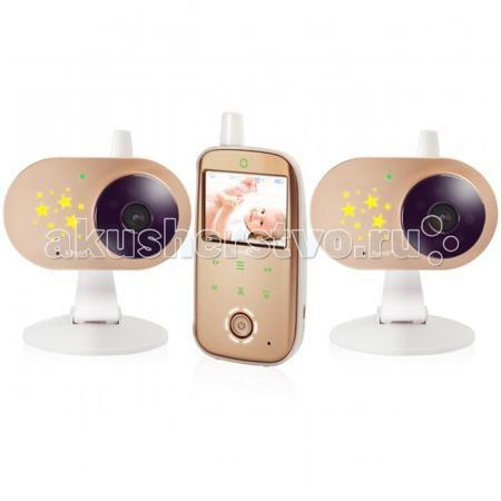Ramili Видеоняня Baby RV1200X2  — 14499р. ----------------------  Ramili Видеоняня Baby RV1200X2 с двумя камерами оснащена всеми необходимыми функциями для комфортного удалённого наблюдения за ребёнком.  Особенности: Диагональ дисплея видеоняни составляет 6,1 см (2,4 дюйма). Оптимальная величина дисплея значительно увеличивает время работы видеоняни без подзарядки.  Дальность приёма составляет 300 метров. Используется современная цифровая технология передачи данных, поэтому связь между…