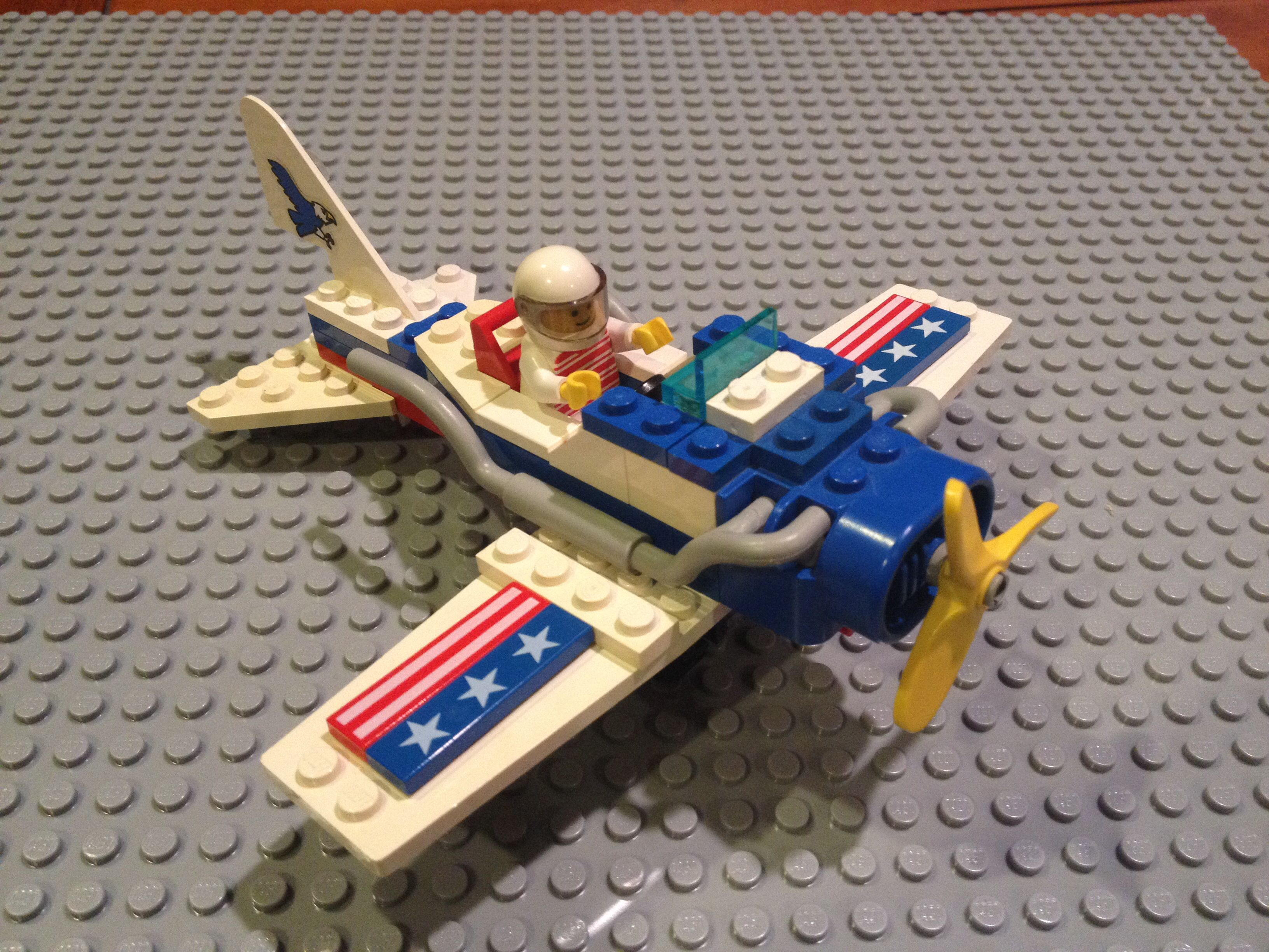 Missing pilot  Aerial Acrobats 1993 Lego set 6345 | My old