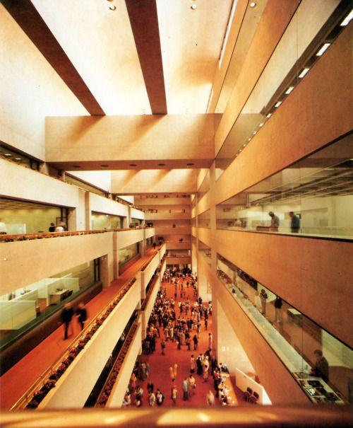 Home Design Center Missouri City Tx: Dallas City Hall, Texas (I.M. Pei, 1964-78)