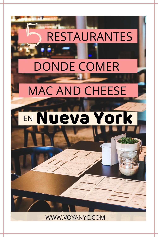 Dónde Comer Mac And Cheese En Nueva York Restaurante Vegano Restaurantes Mac