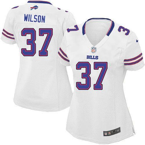 nike buffalo bills women white jersey 37 elite george wilson nfl jersey sale