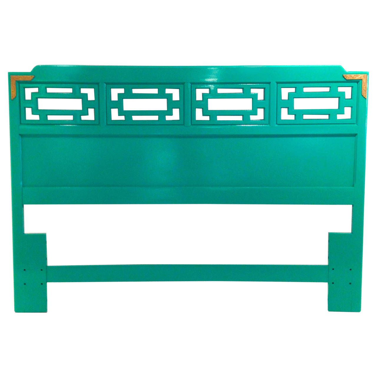 Best Mid Century Modern Hollywood Glam Lacquered Green Wood 400 x 300