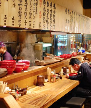 Japanese Kitchen And Open Table Interior Spaces Japanese Style