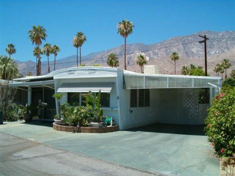 Vintage Mobile Home In Palm Springs Palm Springs Mobile Home Mobile Home Parks