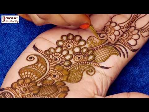 3656b49858258 Stylish Full Hand Arabic Henna Designs | Henna Tattoo | Mehndi Designs  Tutorial by Jyoti Sachdeva - YouTube