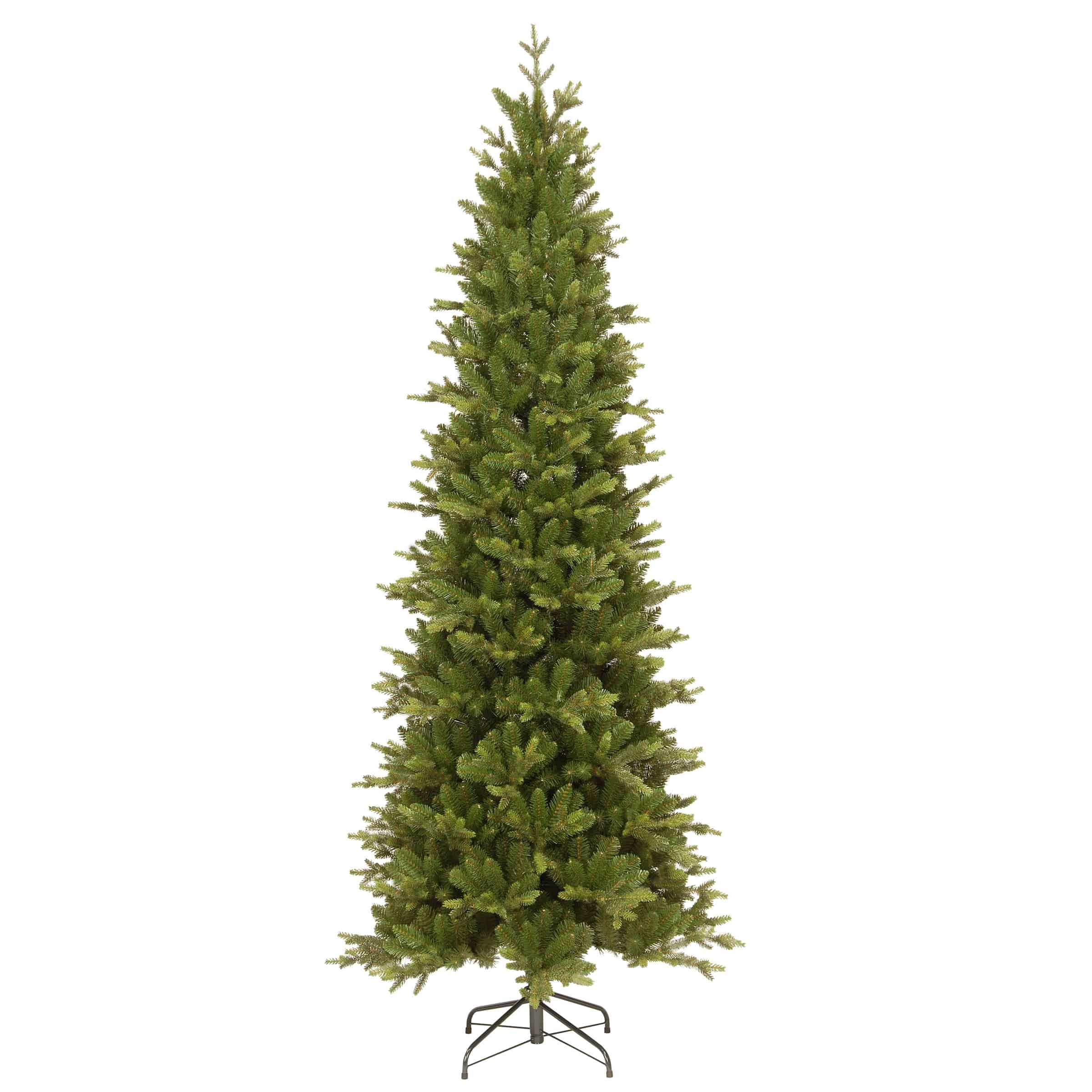 7.5ft Carrington Fir Slim Artificial Christmas Tree (With