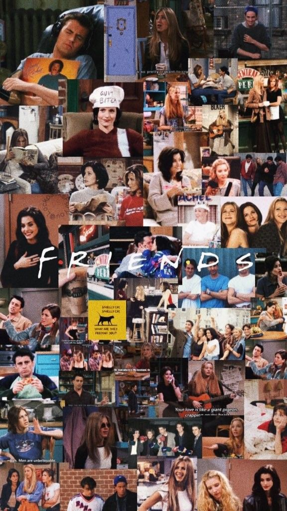 Pin By Leslito On F R E N D S Friends Wallpaper Friends Poster