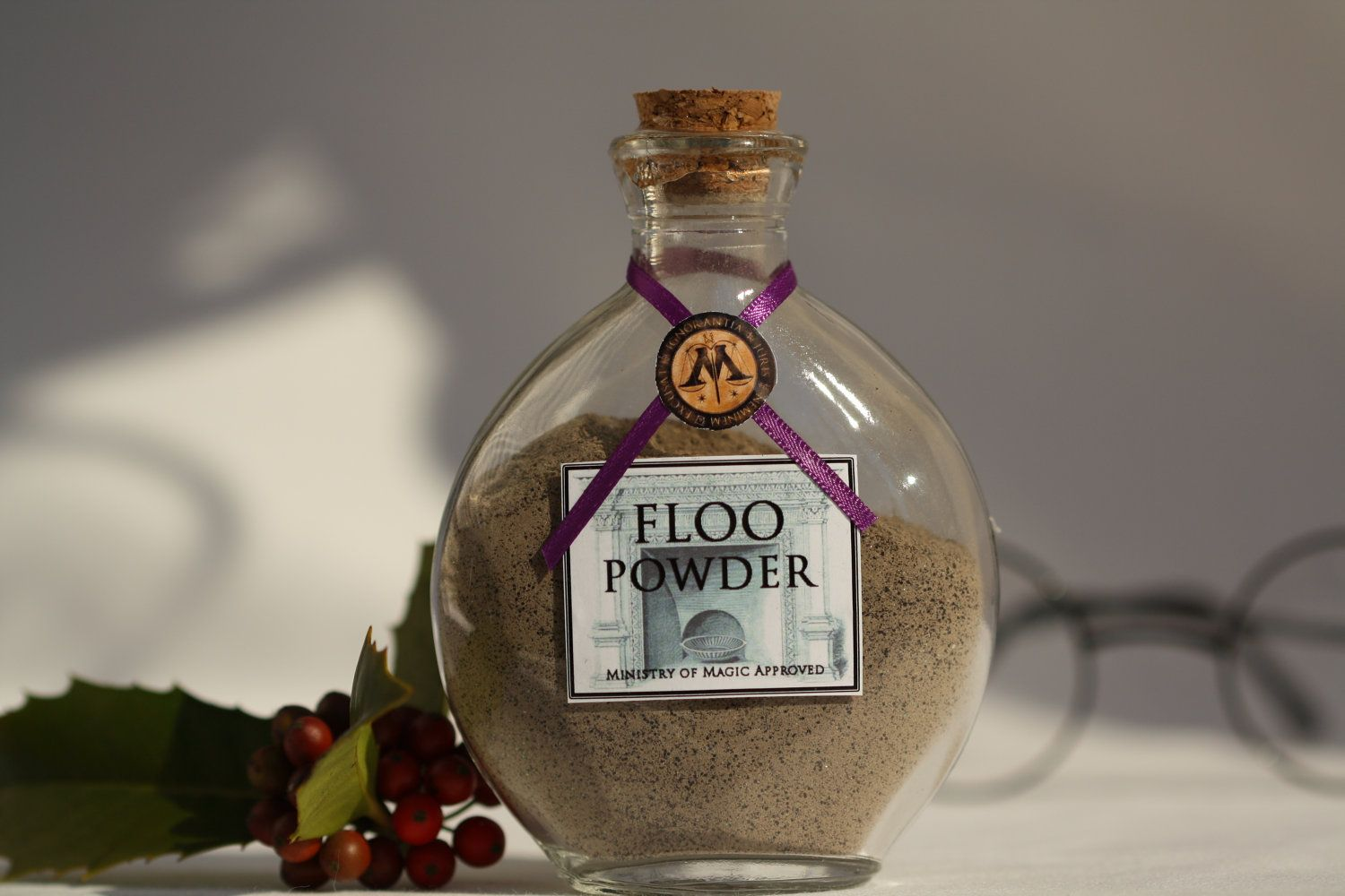 Harry Potters Wizards Floo Powder Great Stocking Stuffer Or Etsy Harry Potter Bathroom Harry Potter Items Harry Potter Room