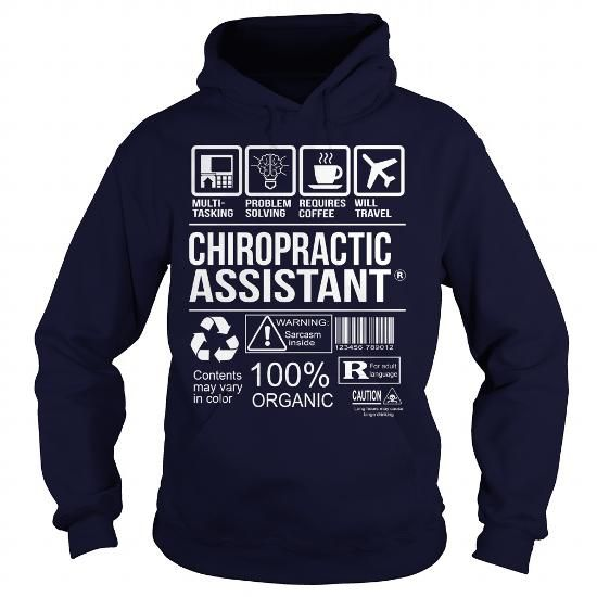 Awesome Shirt For Chiropractic Assistant T Shirts, Hoodies. Check ...