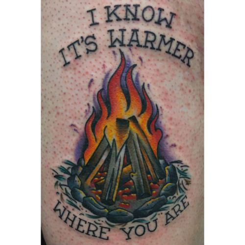 Brandon Kemp Aces Tattoos Denton Tx Submitted Ace Tattoo Flame Tattoos Tattoos