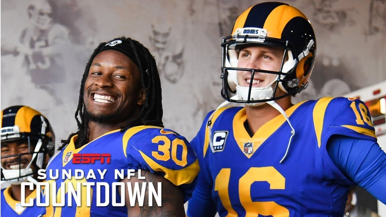 Jared Goff And Todd Gurley Set The Tone For The Rams Success Louis Riddick Nfl Countdown Todd Gurley Jared Goff Nfl