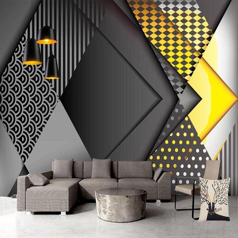 Elegant Wallpaper Design Ideas   3d wallpaper living room ...