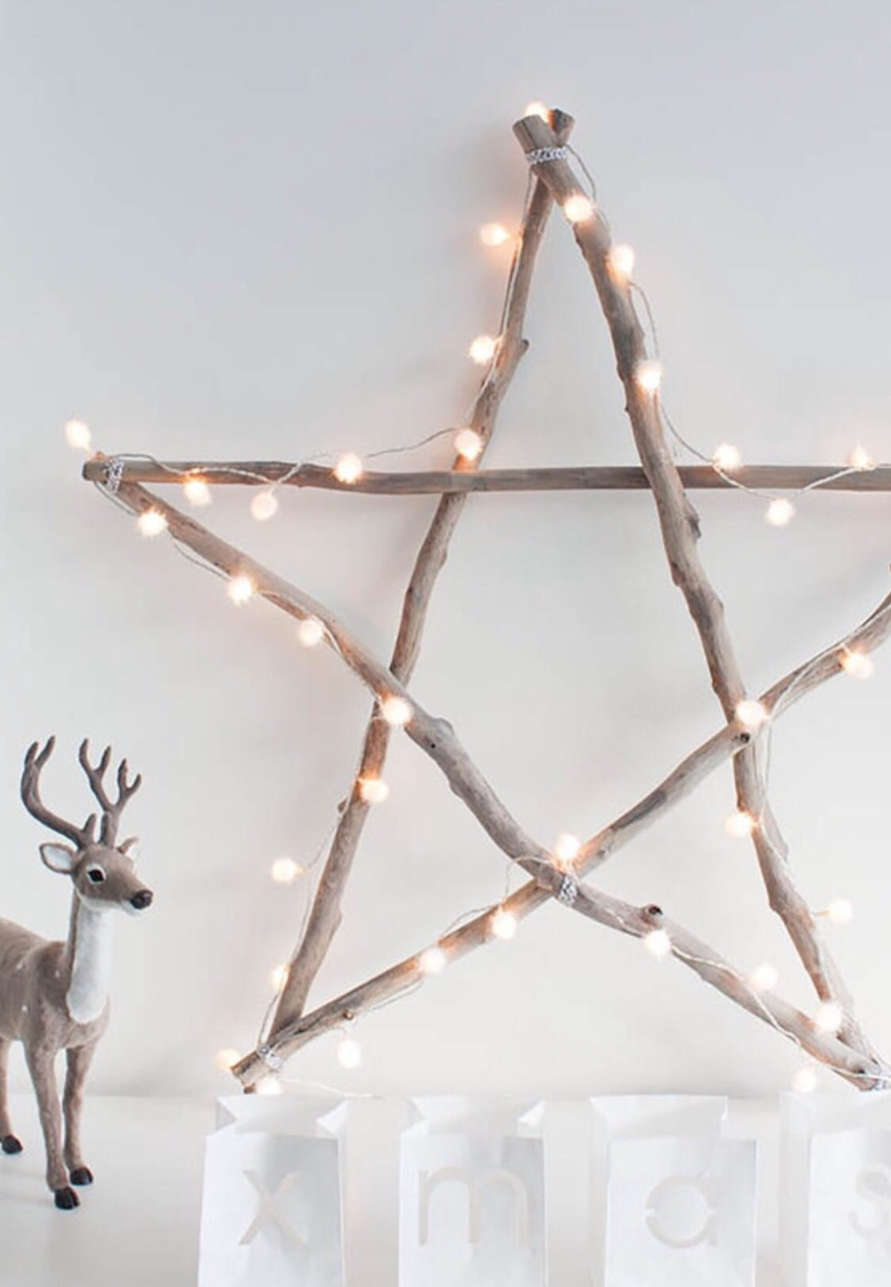 Scandinavian Christmas Inspiration How To Get Scandinavian Christmas Look Homelovr In 2020 Scandinavian Christmas Diy Scandinavian Christmas Diy Christmas Star