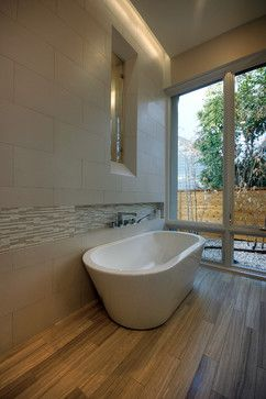 Build A Niche For A Deck Mounted Faucet When Using A Freestanding Tub So You Avoid Buying An Expensive Freestandi With Images Freestanding Tub Faucet Free Standing Bath Tub
