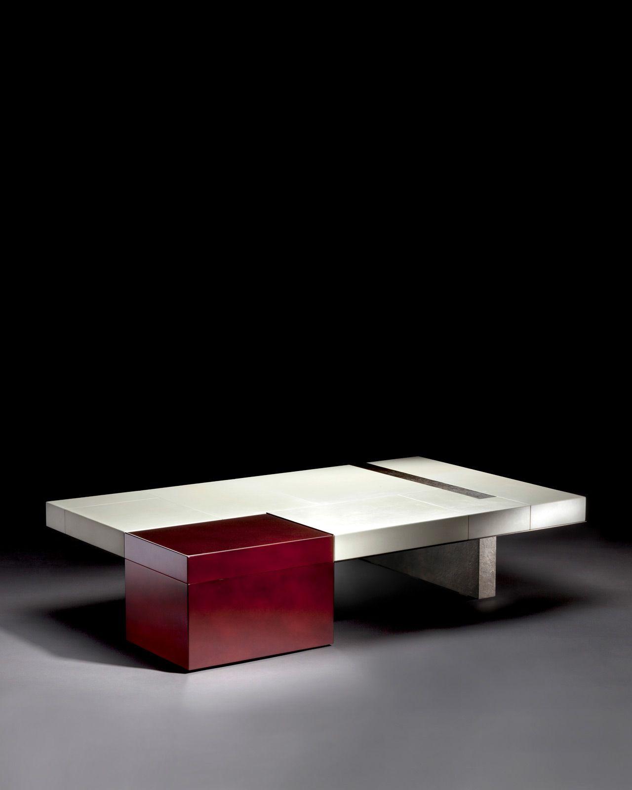 Table Basse Plateforme Herve Van Der Straeten Coffee Table Design Tea Table Coffe Table [ 1600 x 1280 Pixel ]
