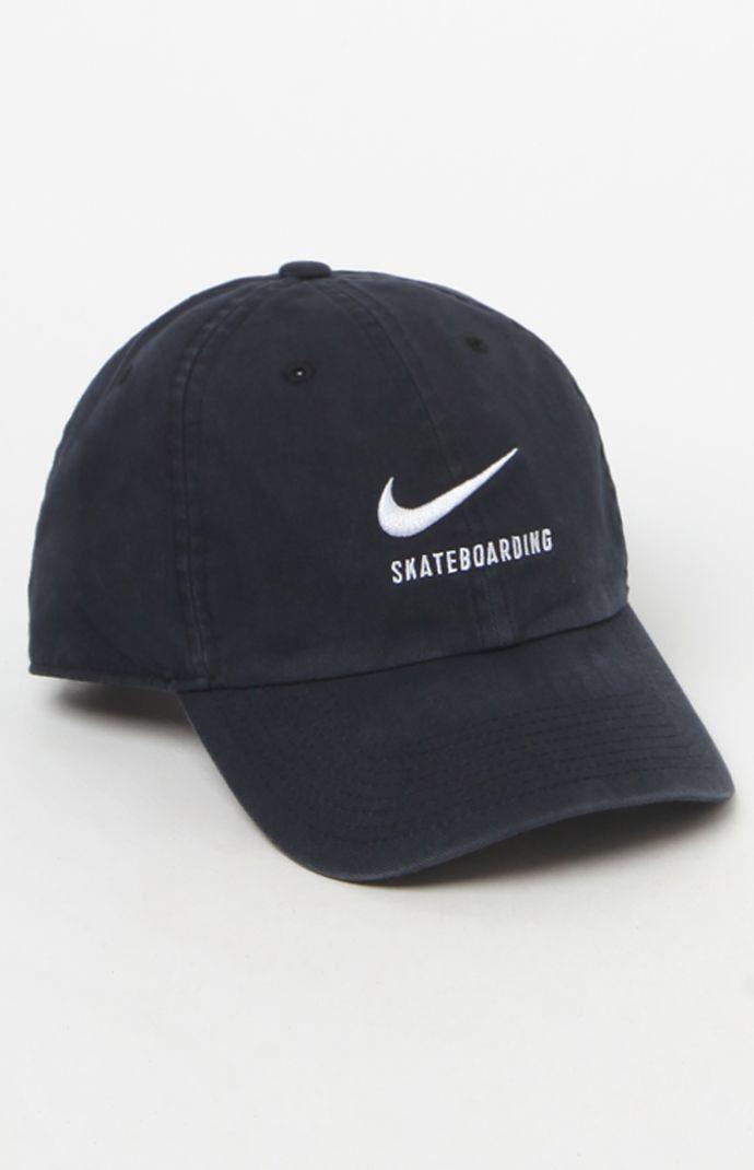 Nike SB H86 Twill Black Strapback Dad Hat  24.95  4fd2e87052ee