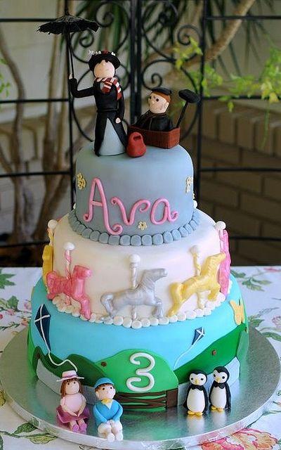 Mary Poppins Cake Mary Poppins Cake Disney Cakes