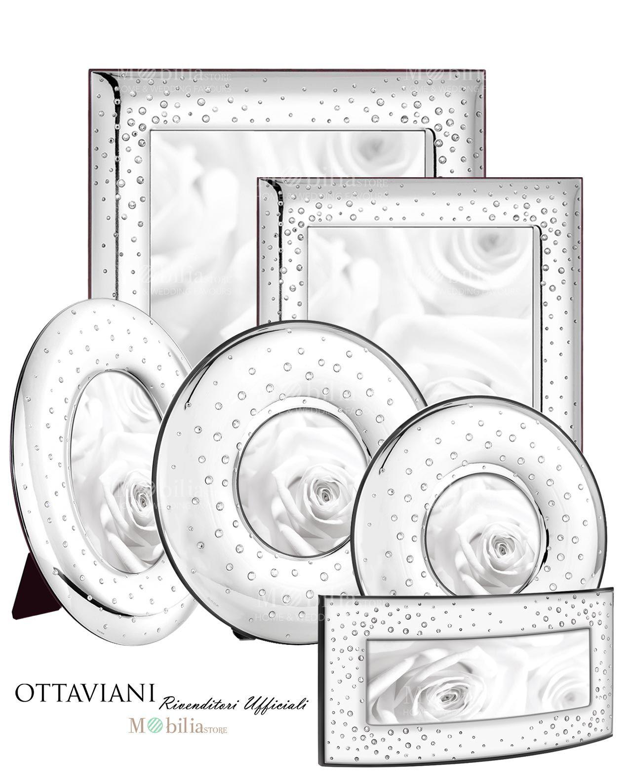 Comprare Cornici Per Foto.Cornici Con Cristalli Ottaviani In Argento 925 Ed