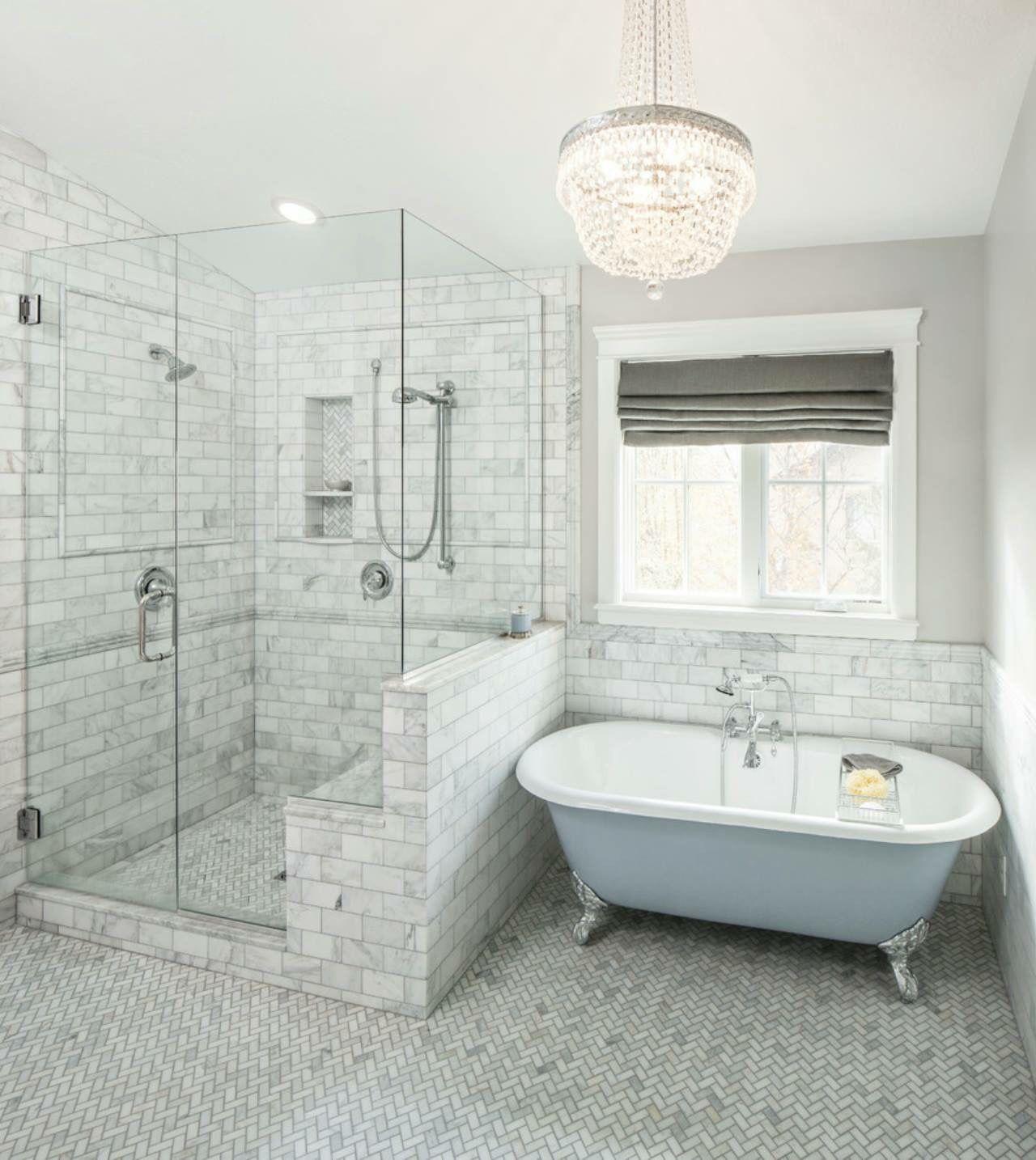 bathroom Amazing White Motifs Bathroom Design With