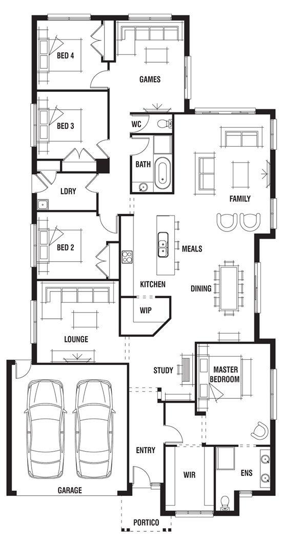 House design dakar porter davis homes illustration for Porter davis home designs