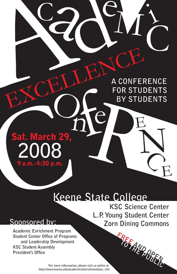 Poster Was Hired To Do As An Undergraduate For The Ksc Academic Excellence Conference Enrichment Programs Conference Poster Academic Enrichment