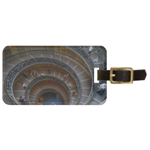 Best Vatican Museum Spiral Staircase Near Rome Italy Bag Tag 640 x 480