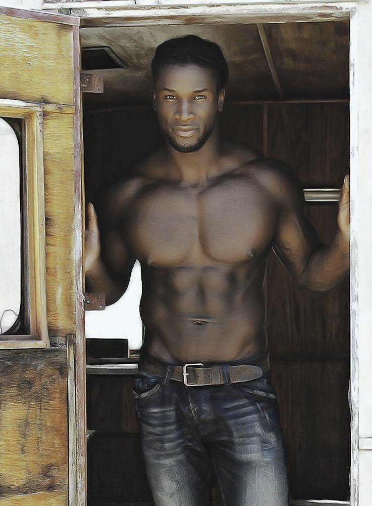 afrikanische heiße Kerle