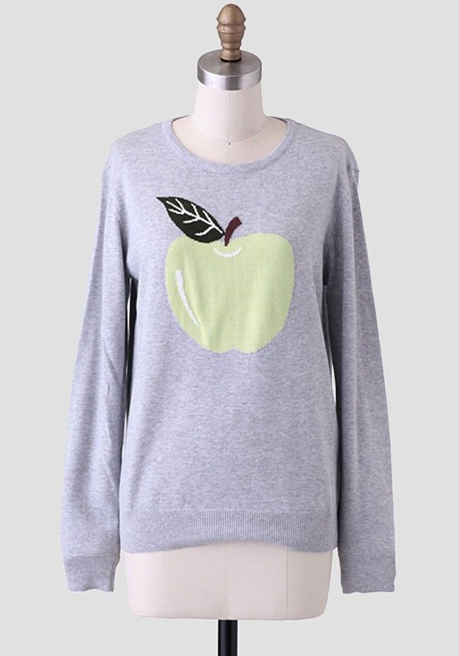Apple Sweater By Sugarhill