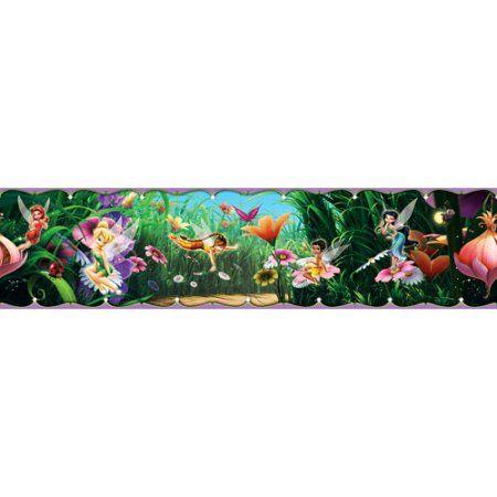 Disney Fairies Movie Wall Border Multicolor Disney Fairies