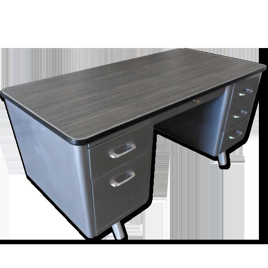 vintage metal office furniture. Retro Office Vintage American Steel Furniture Specializes In Desks And Shaw Walker Brushed Tanker Metal C