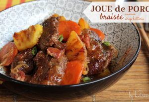 Photo of Offer a pineapple braised pork cheek, your guests will …