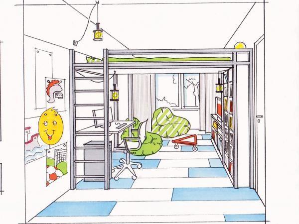 Schmale Räume richtig gestalten in 2020 Kinder zimmer