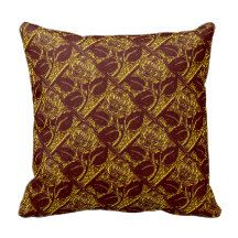 Metal Roses-20-Red Gold-Square Throw Pillow #zazzle #pillows #metal #roses #red #gold  http://www.zazzle.com/zazzlepillows?rf=238170457442240176