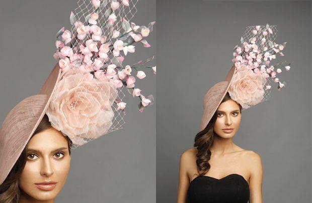 300e2a564cc Arturo Rios Couture Hat Collection Spring    Summer 2018