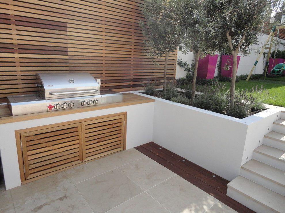 Bbq Storage Ideas Landscape Contemporary With Barbecue Area Outdoor Bbq  Area Barbecue Area