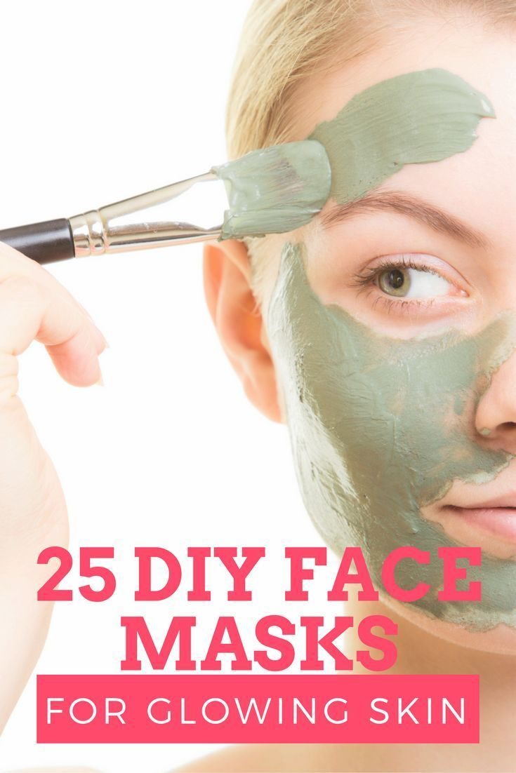 25 DIY Face Masks for Gorgeous Skin #homemadeskincare